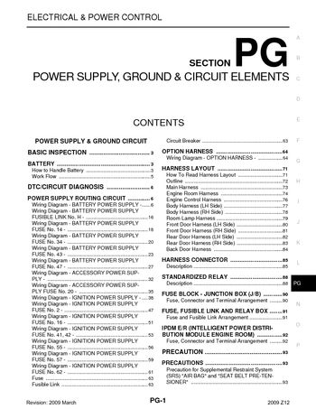 2009 nissan cube power supply ground circuit elements section pg pdf manual 97 pages