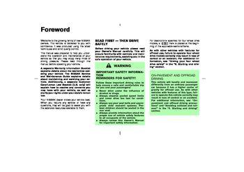 2003 nissan pathfinder owner s manual pdf 299 pages rh carmanuals2 com 1993 nissan pathfinder service manual pdf 93 nissan pathfinder repair manual