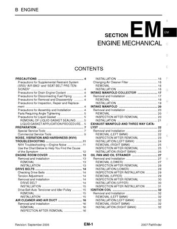 volkswagen engine coolant pdf with Pathfinder 2007 Engine Mechanical Section Em 49347 on Wiring Horn Diagram besides 00 Civic Fuse Box Diagram furthermore Grounding Wire Location Help Please 10069 together with 2001 Toyota Celica Fuse Box Diagram likewise Volkswagen Beetle Cooling System Diagram.