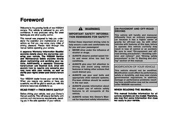 manual de usuario nissan rogue 2009