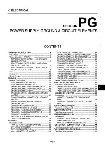 in ground junction box with X Trail 2001 Repair Manual Power Supply Ground Circuit Elements Section Pg 52306 on 2001 Dodge Durango Fuse Box Location Youtube also X Trail 2005 Power Supply Ground Circuit Elements Section Pg 52391 together with Switch Wiring Using Nm Cable also 632 20Traffic 20Signals 20and 20633 20Signal 20Controllers additionally Loop Power Wiring Diagram.