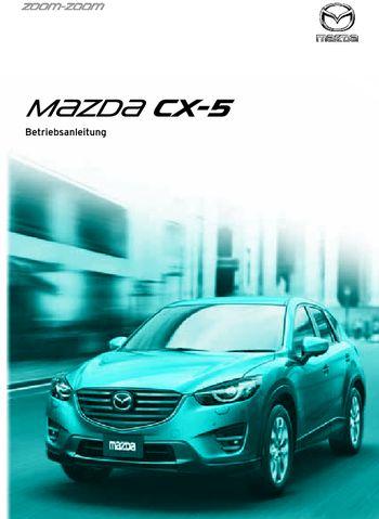 2016 mazda cx-5 - betriebsanleitung (in german) - pdf handbuch (793