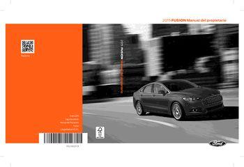 ford fusion manual del propietario  spanish
