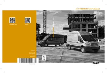 ford transit owners manual   pages