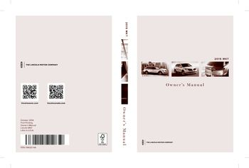 2015 lincoln mkt owner s manual pdf 500 pages rh carmanuals2 com lincoln mkt 2010 owners manual 2010 lincoln mkt owners manual pdf