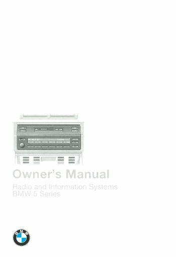 bmw 520d owners manual pdf