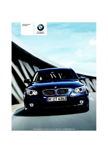 2010 bmw 528i xdrive owners manual how to and user guide rh taxibermuda co 2009 BMW X5 2009 BMW X5