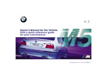 download 2000 bmw m5 owner s manual pdf 189 pages rh carmanuals2 com 2000 bmw z3 service manual pdf 2000 bmw z3 owners manual pdf