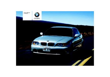 2004 bmw 325ci coupe owner s manual pdf 174 pages rh carmanuals2 com 2004 bmw 325ci owners manual pdf 2004 bmw 325xi owners manual