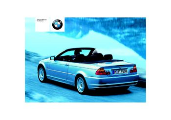 2004 bmw 330ci convertible owner s manual pdf 186 pages rh carmanuals2 com 2004 bmw 325i owners manual 2004 bmw 325i owners manual
