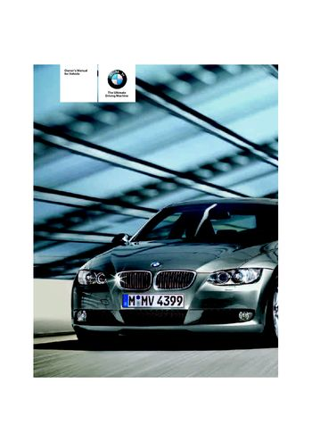 2008 bmw 335i convertible owner s manual pdf 272 pages rh carmanuals2 com BMW 335I Black BMW 335I Exhaust