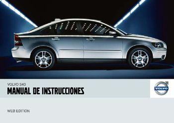 2007 volvo s40 manual del propietario in spanish pdf 256 pages rh carmanuals2 com