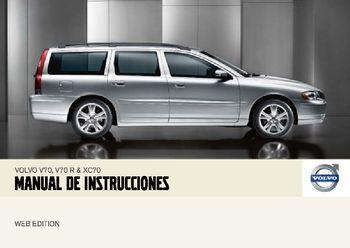 2007 volvo v70 manual del propietario in spanish pdf 254 pages rh carmanuals2 com 2004 Volvo XC70 2007 Volvo XC70 Interior