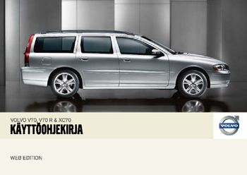 2007 volvo v70 k ytt ohjeet in finnish pdf manuaalinen 254 pages rh carmanuals2 com