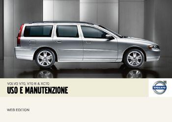 2007 volvo v70 manuale del proprietario in italian pdf 254 pages rh carmanuals2 com manual volvo v70 manual volvo v70 2001