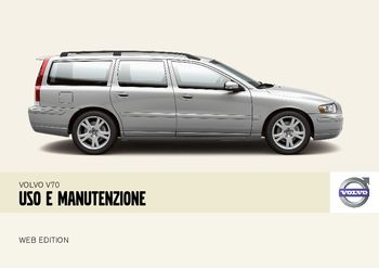 2008 volvo v70 manuale del proprietario in italian pdf 258 pages rh carmanuals2 com manual volvo v70 2001 manual volvo v70 2001