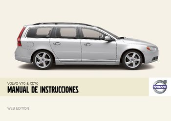 2008 volvo v70 manual del propietario in spanish pdf 244 pages rh carmanuals2 com 2007 Volvo XC70 Reliability 2008 Volvo XC70