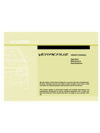 2010 hyundai veracruz owner s manual pdf 425 pages rh carmanuals2 com hyundai veracruz user manual hyundai veracruz repair manual