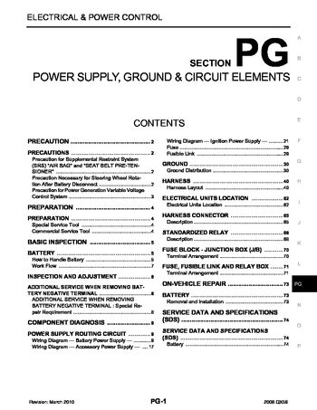 infiniti qx power supply ground circuit elements 2008 infiniti qx56 power supply ground circuit elements section pg 74 pages