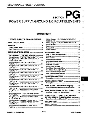 i2 2011 infiniti g37 power supply, ground & circuit elements 4 Prong Trailer Wiring Diagram at bakdesigns.co