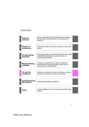 2015 toyota verso manual del propietario in spanish pdf 700 rh carmanuals2 com manual usuario toyota verso 2011 manual de usuario toyota corolla verso español