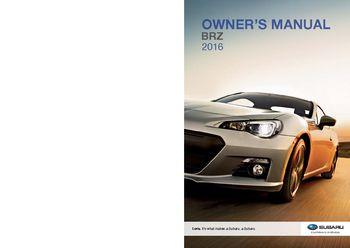 2016 subaru brz owner s manual pdf 490 pages rh carmanuals2 com subaru owners manual forester subaru owners manual 2015