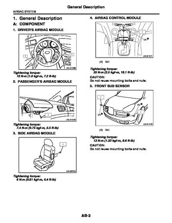 2009 subaru tribeca - service manual (2453 pages)