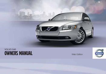 2012 volvo s40 owner s manual pdf 316 pages rh carmanuals2 com 2004 Volvo S40 Volvo S60
