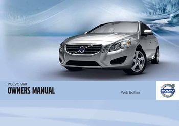 2011 volvo v60 owner s manual pdf 388 pages rh carmanuals2 com volvo s60 2012 owner's manual volvo s60 2012 owner's manual