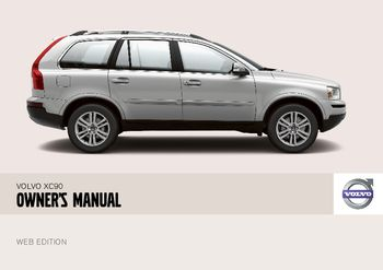 2008 volvo xc90 owner s manual pdf 257 pages rh carmanuals2 com