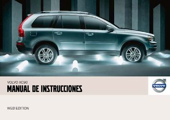 2007 volvo xc90 manual del propietario in spanish pdf 263 pages rh carmanuals2 com 2018 Volvo XC90 2018 Volvo XC90