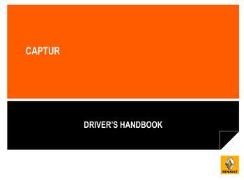 2014 Renault Captur - Owner's Manual - PDF (244 Pages)
