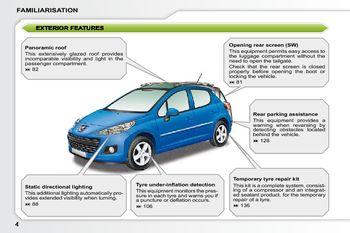 2009 peugeot 207 owner s manual pdf 279 pages rh carmanuals2 com Peugeot 308 CC Peugeot 308 CC