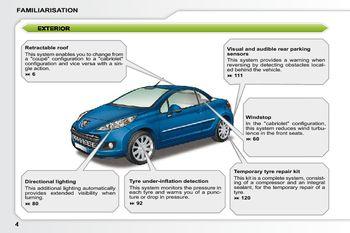 2010 peugeot 207 cc owner s manual pdf 207 pages rh carmanuals2 com Peugeot 308 CC Peugeot 206 CC