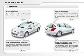 2010 peugeot 407 owner s manual pdf 249 pages rh carmanuals2 com peugeot 407 manual repair peugeot 407 manual free download