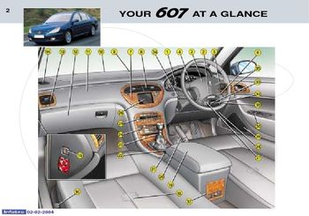 2004 peugeot 607 owner s manual pdf 173 pages rh carmanuals2 com Peugeot 408 Peugeot 406