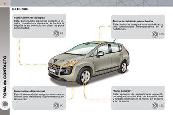 2010 peugeot 3008 manual del propietario in spanish pdf 316 rh carmanuals2 com Peugeot 5008 Peugeot 3008 2017