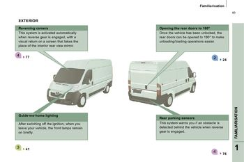 2010 peugeot boxer - owner's manual - pdf (167 pages)