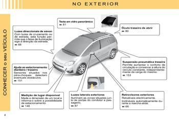 2009 citro n c4 picasso manual do propriet rio in portuguese rh carmanuals2 com manual instrucciones citroen c4 grand picasso manual usuario citroen c4 grand picasso 2008