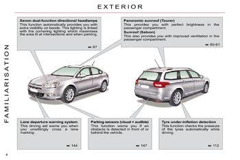 2009 5 citro n c5 owner s manual pdf 314 pages rh carmanuals2 com Citroen C4 Citroen C7