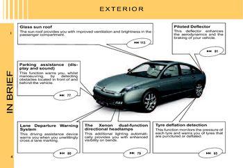 2007 citro n c6 owner s manual pdf 216 pages rh carmanuals2 com manual citroen c4 picasso 2008 francais manuel citroen c6 pdf