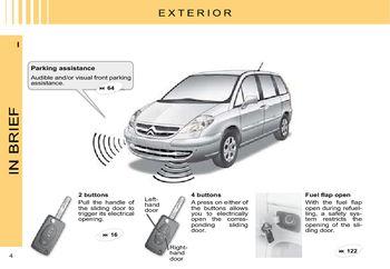 2008 citro n c8 owner s manual pdf 194 pages rh carmanuals2 com citroen c8 instruction manual Citroen C2