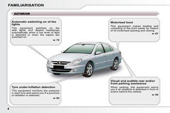 2007 5 peugeot 607 owner s manual pdf 187 pages rh carmanuals2 com Peugeot 408 Peugeot 504
