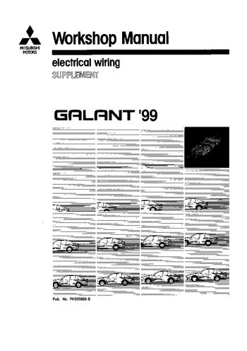 1999 mitsubishi galant wiring diagram 1999 image 1999 mitsubishi galant electrical wiring pdf manual 543 pages on 1999 mitsubishi galant wiring diagram