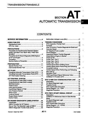 2007 infiniti qx56 automatic transmission section at pdf 2007 infiniti qx56 automatic transmission section at 300 pages