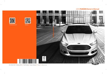 ford fusion owners manual   pages