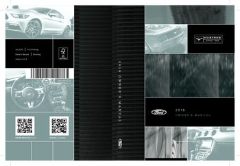 2015 ford mustang owners manual: ford: amazon. Com: books.