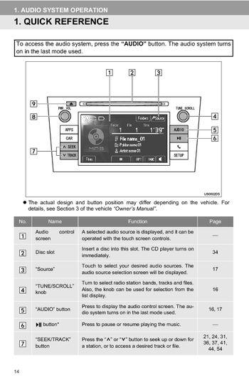 2012 toyota avalon toyota universal display audio system owner s rh carmanuals2 com 2018 toyota avalon navigation manual 2018 avalon navigation manual