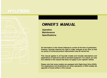 hyundai i45 owners manual pdf