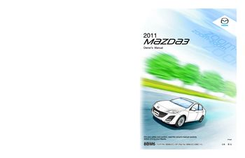 2011 mazda 3 hatchback owner s manual pdf 509 pages rh carmanuals2 com mazda 3 2016 owners manual pack for sale 2011 mazda 3 hatchback owners manual